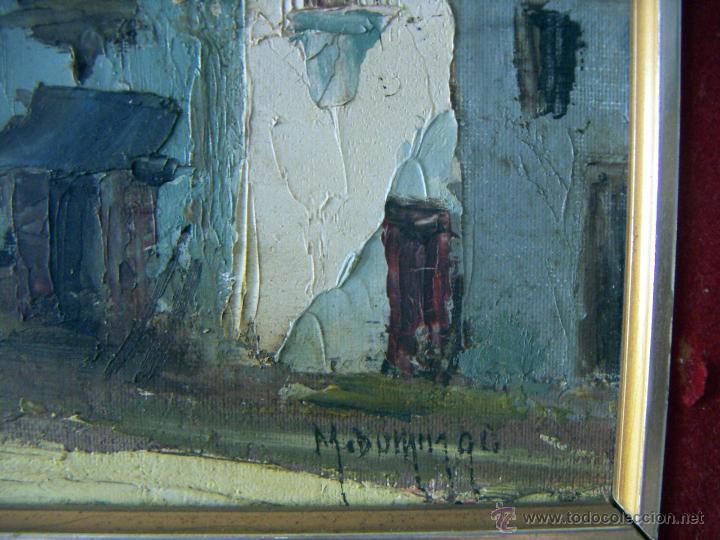 Arte: Pintura al oleo firmada M.Domingo - Foto 5 - 51734725