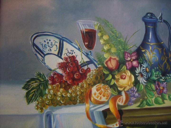 Arte: Pintura al oleo firmada - Foto 2 - 51735018