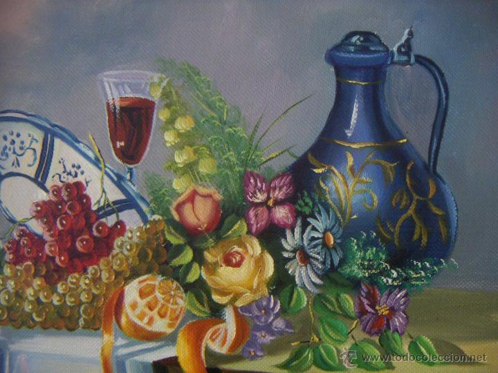 Arte: Pintura al oleo firmada - Foto 3 - 51735018