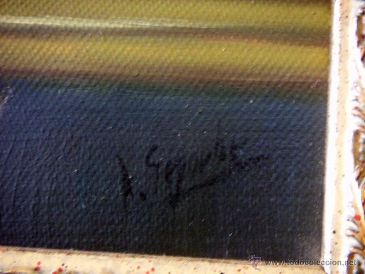 Arte: Pintura al oleo firmada - Foto 4 - 51735018