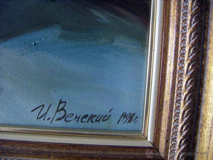 Arte: Pintura al oleo firmada - Foto 4 - 51735141