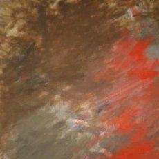 Arte: WERNER BUB (1945 MANNHEIM) GEWITTER / TORMENTA OLEO SOBRE LIENZO. Lote 51811439