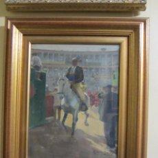 Arte: CUADRO DE ROBERTO DOMINGO (PARÍS, 1883 – MADRID, 1956) TEMA TAURINO - TOROS. Lote 51942882