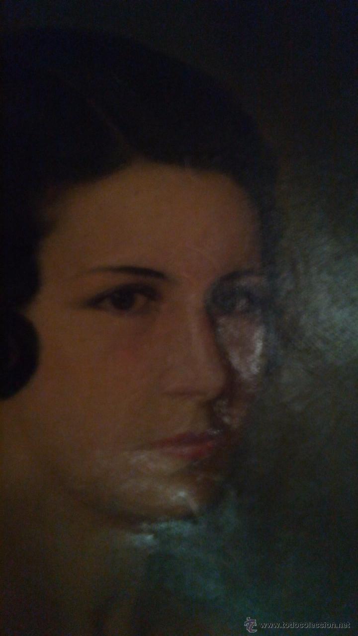 Arte: Precioso retrato de mujer firmado por Camino en 1937 - Foto 3 - 42386059