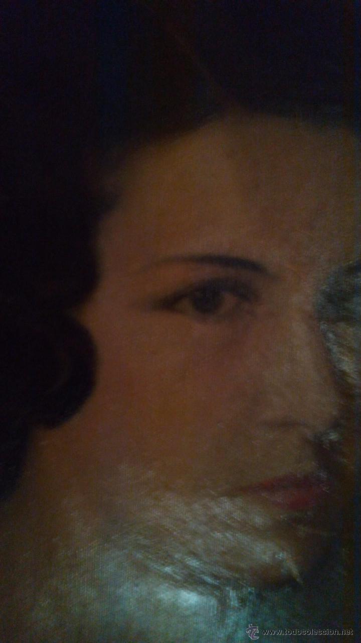 Arte: Precioso retrato de mujer firmado por Camino en 1937 - Foto 4 - 42386059