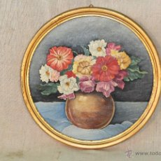 Arte - BODEGON ORIGINAL ANONIMO OLEO-TABLE - 52313847