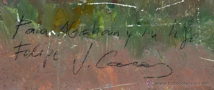 Arte: JAIME CASAS. OLEO SOBRE TABLEX. PAISAJE - Foto 3 - 52340617