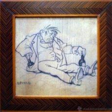 Arte: BORRACHO OPISSO. Lote 52382708
