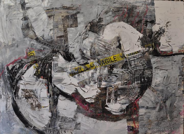 Arte: PLATO ESMALTADO CON MOTIVO TAURINO , FIRMADO Y DATADO LASCAUX ... PINTURA RUPESTRE - Foto 4 - 110986247