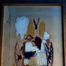 Arte: ÓLEO SOBRE CARTULINA DE JOAN CAPELLA.1972.GALERIA SYRA.. Lote 52755046