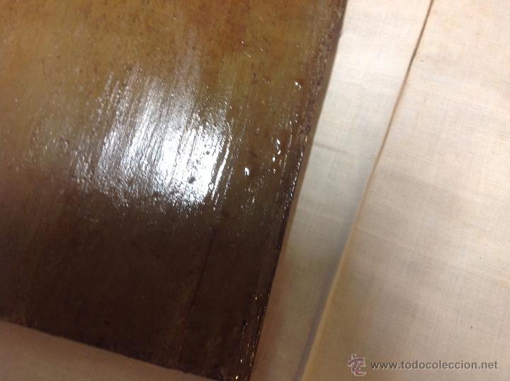 Arte: oleo sobre tabla casa con molino - Foto 7 - 52978684