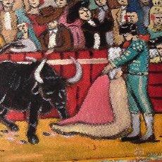 Arte: INICIO DE VERÓNICA, ÓLEO SOBRE TABLA RECICLADA, 30X40 CM. CRESPO. Lote 53069523