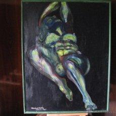 Arte: AGONÍA, OLEO, AUTOR FABIAN BIANCHI GALARZA. Lote 53182096