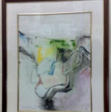 Arte: .-REGRESO.- FECHADO 80, Y FIRMADO. OLEO/LIENZO, ENMARCADO.. Lote 166952181