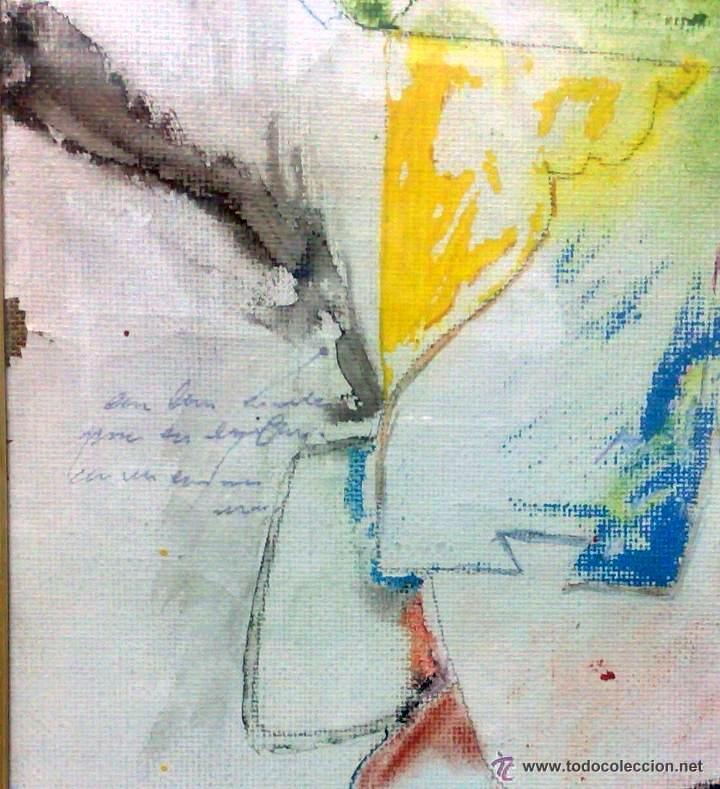 Arte: .-REGRESO.- FECHADO 80, Y FIRMADO. OLEO/LIENZO, ENMARCADO. - Foto 11 - 166952181