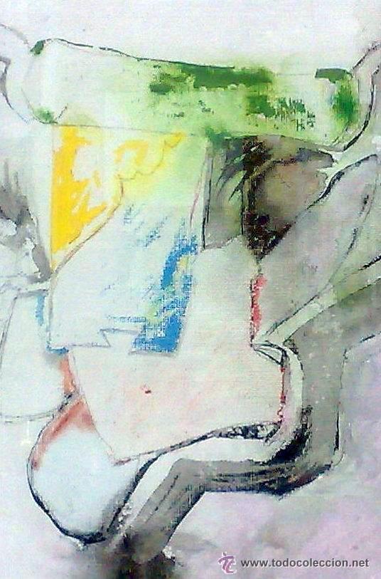 Arte: .-REGRESO.- FECHADO 80, Y FIRMADO. OLEO/LIENZO, ENMARCADO. - Foto 18 - 166952181