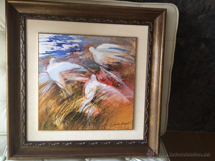 ANDREU FRESQUET OLEO SOBRE PAPEL (Arte - Pintura - Pintura al Óleo Moderna sin fecha definida)
