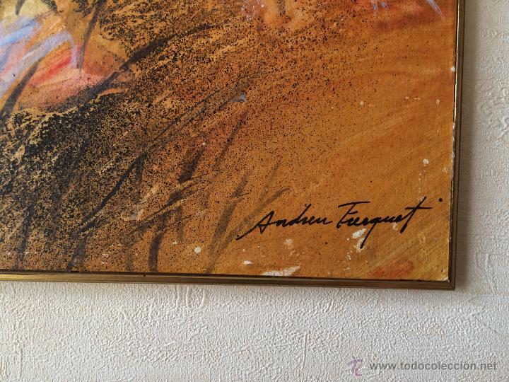 Arte: Andreu Fresquet oleo sobre papel - Foto 3 - 53268268