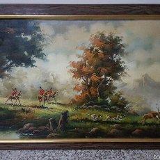Arte: GRAN OLEO SOBRE LIENZO DEL PINTOR FERRI RICHART, ENMARCADO. 109X60CM PRECIO 350€. Lote 53285994