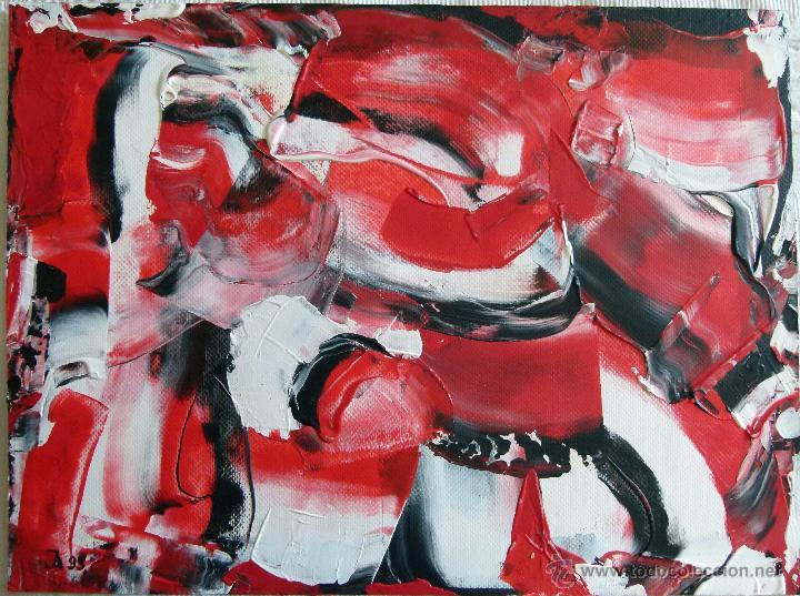 OLEO FIRMADO A IDENTIFICAR (Arte - Pintura - Pintura al Óleo Contemporánea )