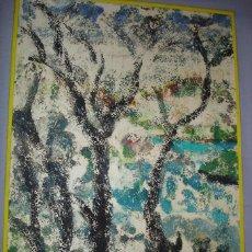 Arte: URGE VENTA. E. IBAÑEZ. MONOLITO ARBOLES. Lote 53412959