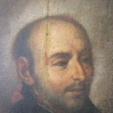 Arte: SAN IGNACIO DE LOYOLA OLEO SOBRE LIENZO SIGLO XVII ESCUELA SEVILLANA. Lote 53436011