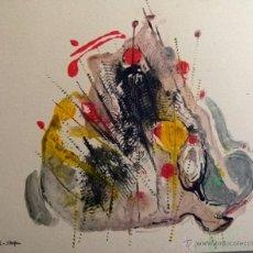 Arte: OLEO ORIGINAL FIRMADO POR SIEGFRIED REICH AN DER STOLPE 1992. Lote 53589323