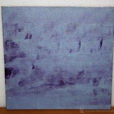 Arte: FIRMADO GISELLE. ACRILICO SOBRE TELA. TITULADO DESIERTO Y FECHADO 2003. Lote 53613591