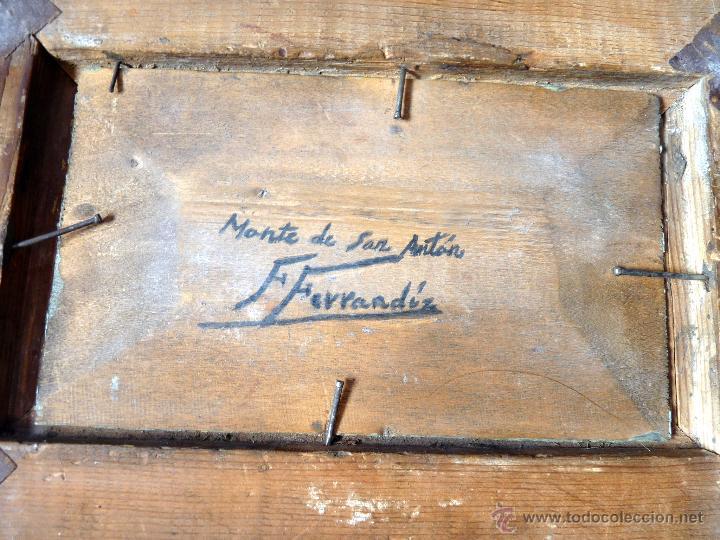 Arte: MAGNIFICA PINTURA PAISAJE MALAGUEÑO DEL PRESTIGIOSO PINTOR FEDERICO FERRANDIZ - Foto 4 - 53631540