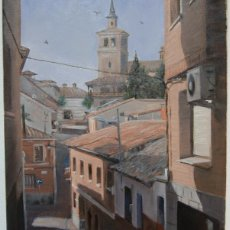 Arte: OLIAS DEL REY - OLEO SOBRE LIENZO - 45,5 CM. * 38 CM.. Lote 53710290