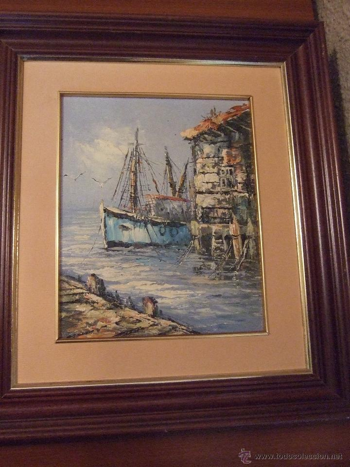 Arte: Dos cuadros pintados al óleo - Foto 2 - 53711589
