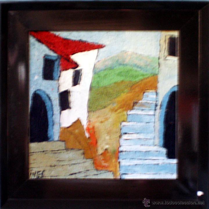 gines.-pintura expresionista,oleo s/tablex tecn - Comprar Pintura al ...