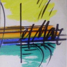 Arte - GENOVART LLOPIS ,JAUME -oleo sobre cartulina -FIRMADO y enmarcado- - 53955469