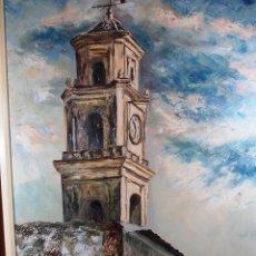 Arte: OLEO SOBRE LIENZO PINTOR VALENCIANO PACO SANCHIS. Lote 53957245