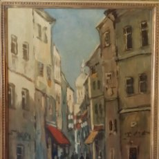 Kunst - WILHELM LINK: óleo sobre tabla IMPRESIONISMO/ firmado a mano - 53962950