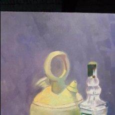 Arte: 55X46, OLEO SOBRE LIENZO, BODEGON, FIRMADO . Lote 54088380