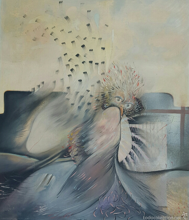 PACO AGUILAR (MALAGA 1959), PRECIOSA PINTURA ORIGINAL FIRMADA AÑO 1981 (Arte - Pintura - Pintura al Óleo Contemporánea )