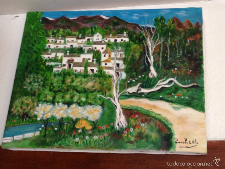CUADRO ÓLEO (Arte - Pintura Directa del Autor)