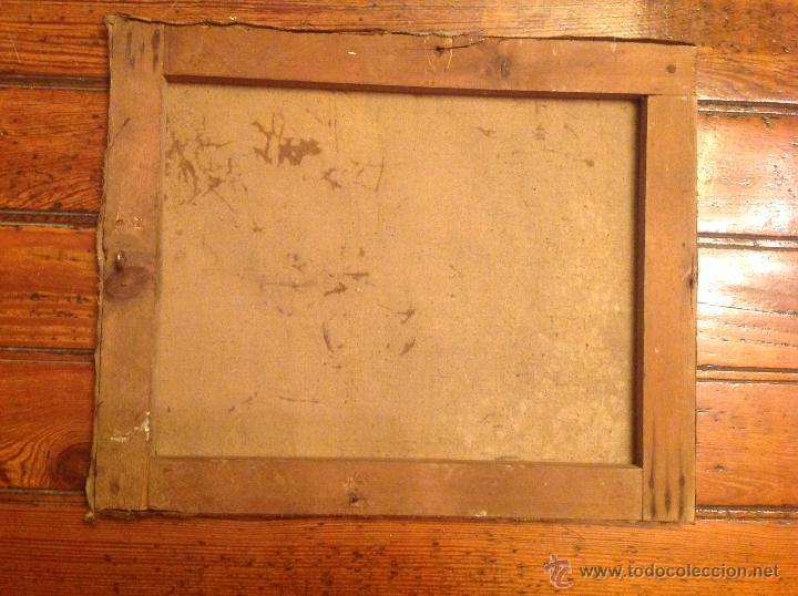 Arte: Oleo sobre lienzo bodegon florero - Foto 2 - 54252735