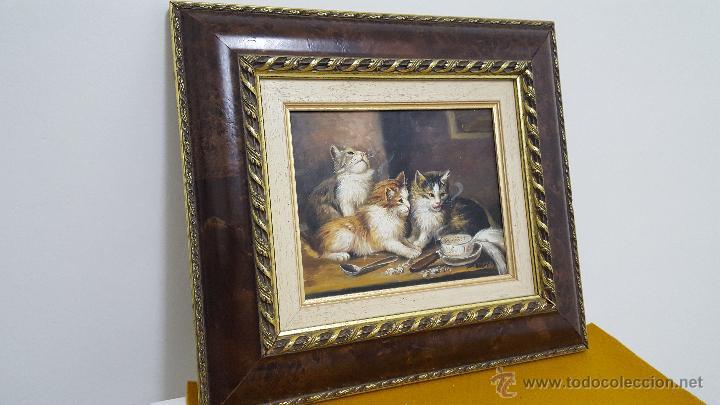 Arte: Oleo sobre tabla. - Foto 2 - 54384507