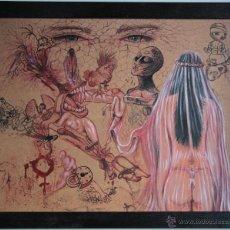 Arte: CONTRA EL MALTRATO-JUAN IZQUIERDO. Lote 54393829