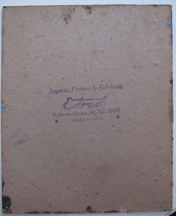Arte: PAISAJE PEQUEÑO FORMATO FIRMADO ILEGIBLE OLEO SOBRE TABLA. 18 X 15 CM - Foto 3 - 54413261