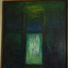 Arte: OBRA ABSTRACTA - S. MORLEY - 1990 - OLEO SOBRE LIENZO - 1,12 X 1,67 METROS. Lote 54494534