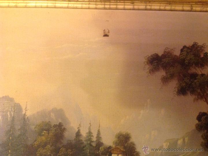 Arte: conjunto de cuatro cuadros oleo sobre lienzo paisajes - Foto 4 - 54518808