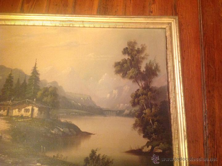 Arte: conjunto de cuatro cuadros oleo sobre lienzo paisajes - Foto 6 - 54518808