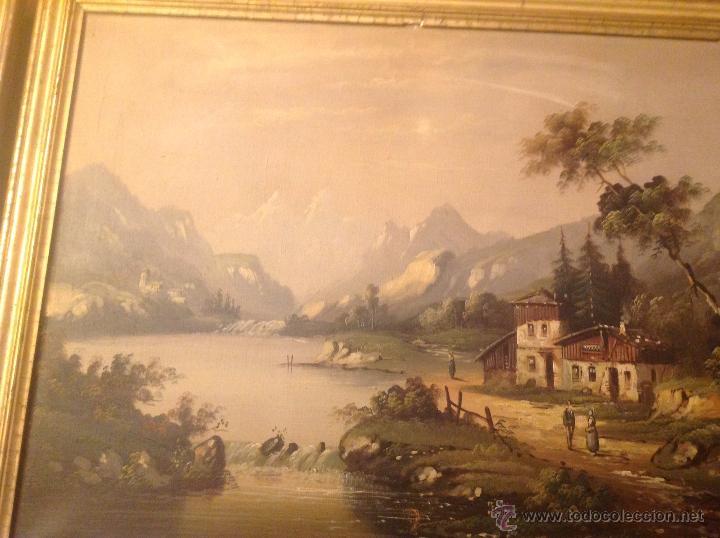 Arte: conjunto de cuatro cuadros oleo sobre lienzo paisajes - Foto 8 - 54518808