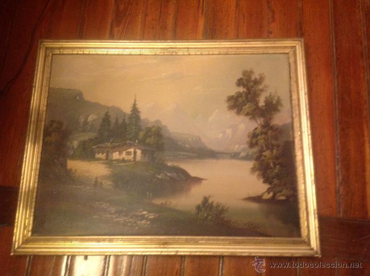 Arte: conjunto de cuatro cuadros oleo sobre lienzo paisajes - Foto 15 - 54518808