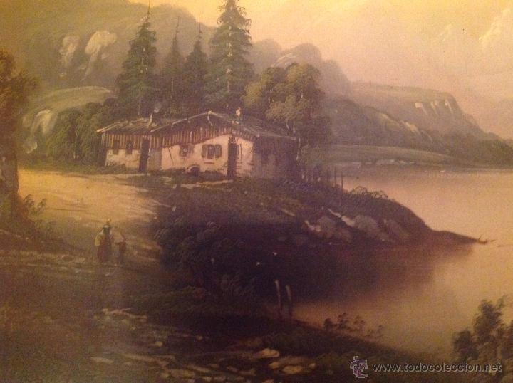 Arte: conjunto de cuatro cuadros oleo sobre lienzo paisajes - Foto 16 - 54518808