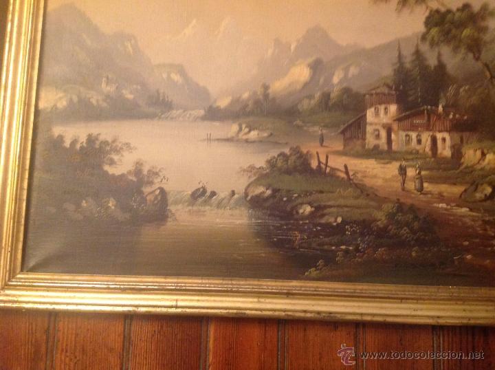 Arte: conjunto de cuatro cuadros oleo sobre lienzo paisajes - Foto 21 - 54518808