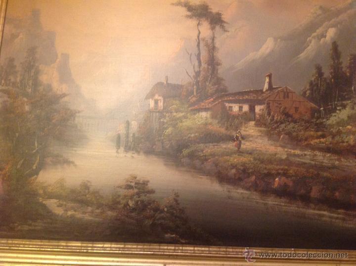 Arte: conjunto de cuatro cuadros oleo sobre lienzo paisajes - Foto 22 - 54518808